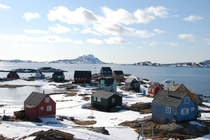 The village of Attu Qaasuitsup Municipality Greenland