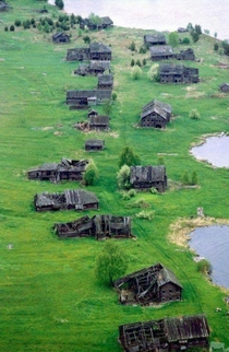 The village of Pegrema Republic of Karelia Abandoned after the Russian revolution