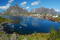 The Village of Reine Norway In the Lofoten Archipelago