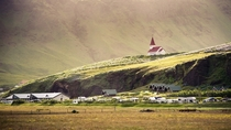 The village of Vk  Mrdal southernmost village in Iceland  photo by Dennis Fischer