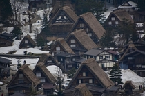 The villages of Shirakawa-go and Ainokura Japan