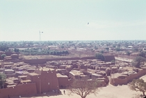 The walled old town of Kano Nigeria