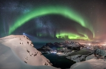 The Watcher - Winner Aurorae Astronomy Photographer of the Year Photo by Nicolai Brgger