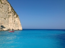 The waters off Shipwreck Beach - Zakynthos Greece