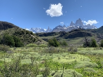 The weather lined up perfectly for our trip to El Chalten Patagonia Fitz Roy and Cerro Torre out on full display