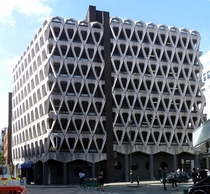 The Welbeck Street car park in London  x
