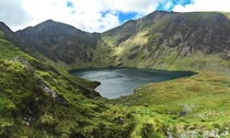 The Welsh say anyone who sleeps on top of the mountain comes down a poet or a madman Cader Idris Wales