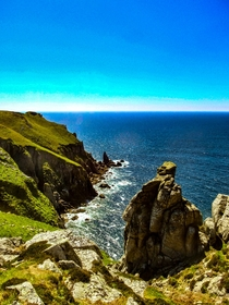 The west coast of Lundy Island in the Bristol Channel