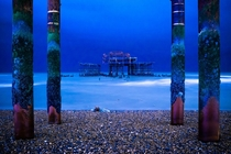 The West Pier Brighton England UK