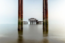 The West Pier Brighton UK  x