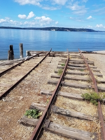 The wharf is gone but the tracks remain DuPont WA