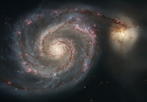 The Whirlpool Galaxy an interacting galaxy with NGC