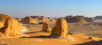 The White Desert Egypt  by The Couchsurfer