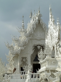 The White Temple - Wat Rong Khun in Thailand