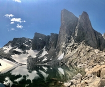 The wild Wind River Range of Wyoming