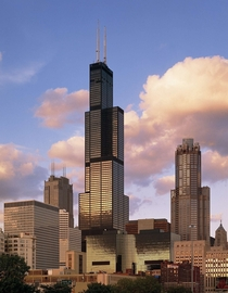 The Willis Tower once known as the Sears Tower