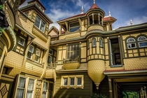 The Winchester House in Queen Anne style