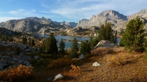 The Wind River Range Titcomb Basin in western Wyoming