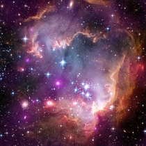 The Wing of the Small Magellanic Cloud one of the Milky Ways closest galactic neighbors