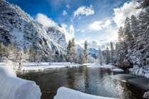The winter wonderland that is Yosemite -