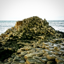 The Wishing Seat Giants Causeway Northern Ireland