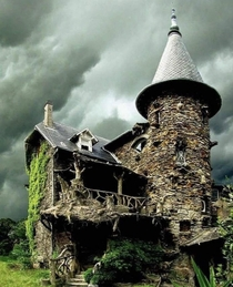 The Witch House in France sorry if a repost I saw this elsewhere and thought you would appreciate