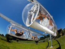 The worlds first human-powered monorail Ngongotaha New Zealand
