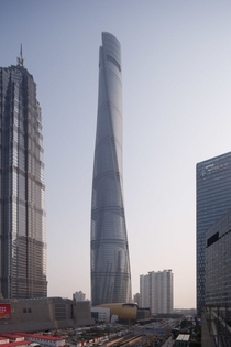 The worlds nd tallest building - the Shanghai Tower  by Marshall Strabala and Jun Xia