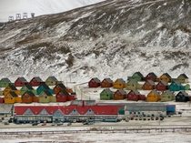 The worlds northernmost town - Longyearbyen Svalbard Norway