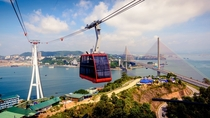 The Worlds Tallest Cable Car m in Ha Long Vietnam