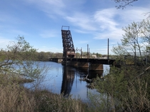 The -year-old Crook Point Bascule Bridge has stood in an upright and locked position over the Seekonk River since it was abandoned more than four decades ago