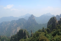 The Yellow Mountains Mt Huangshan of China Felt like I was visiting another world