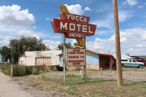 The Yucca Motel in Vaughan New Mexico