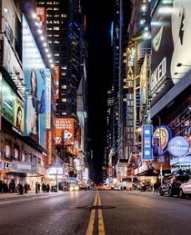 Theatre District New York City