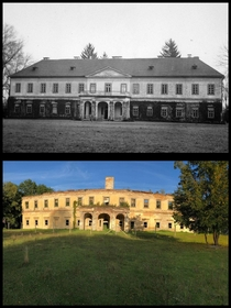 Then and now A beautiful Hungarian castle in Slovakia