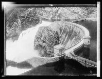 Theodore Roosevelt Dam on the Salt River located northeast of Phoenix Arizona taken between  to