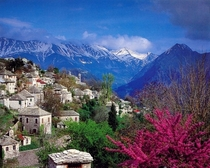 There is a misconception that Greece is only about islandsHeres is a mountainous village Kalarites