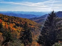 There is a reason theyre called the Blue Ridge Mountains