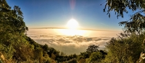 There is something serene about the sunrise here Nandi hills Bangalore India