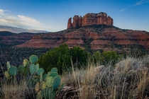 Theres a lot of interesting rock formations around Sedona Arizona