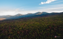 Theres not enough New Hampshire around here This is the foliage from last weekend in the White Mountains