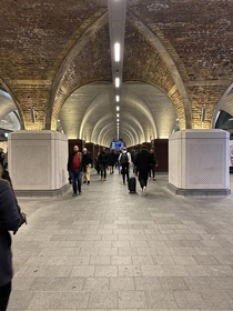 These arches supporting London Bridge station in London of course