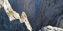 They say the bottom only receives  minutes of light per day the Black Canyon of the Gunnison Southwest Colorado