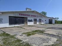They sold their last bag of feed long ago Country store about  miles east of Kansas City