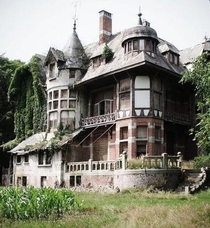 This abandoned home dates back to  - Belgium