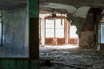 this abandoned hospital was nothing short of a rare gem