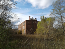 This abandoned paper mill is actually really cool inside and outside