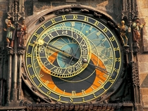 This astronomical clock in Prague has been functioning since