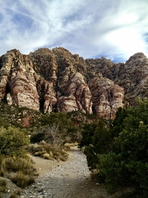 This beauty Oak Creek trail at Red Rock Canyon Conservation Area Las Vegas NV