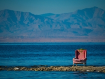 This Chair on the Salton Sea
